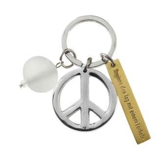 """Zen Schlüsselanhänger """"Peace"""""""