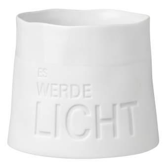 """Windlicht """"Es werde licht"""""""