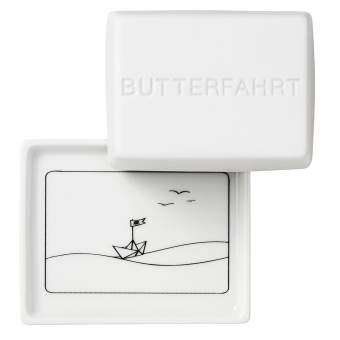 """kleine Butterdose """"Butterfahrt"""""""