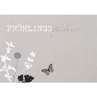 """Postkarte """"Frühlingsgefühle"""""""