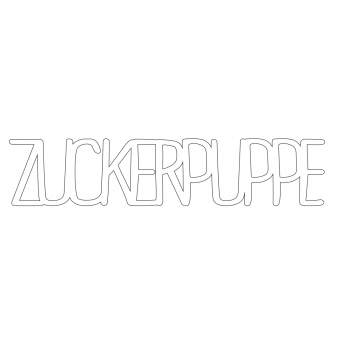 "Wortgut ""Zuckerpuppe"""