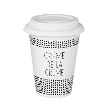 """Kleiner Thermobecher """"Crème de la Crème"""""""