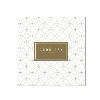"""Cocktail Serviette """"Good Day"""""""