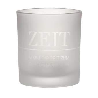 """Lichtglas """"Zeit"""""""