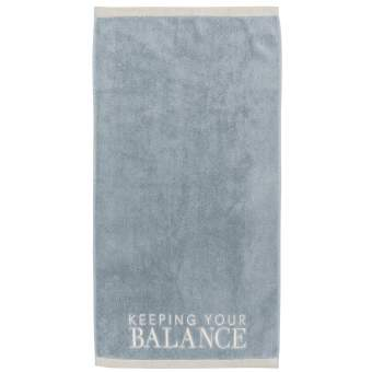 "Handtuch ""Keeping your balance"""