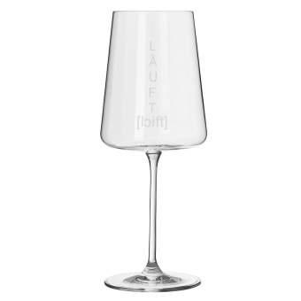 "Weinglas Vino Apero ""Läuft"""