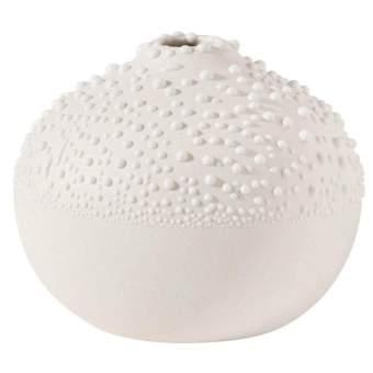 """Weiße Perlenvase """"Design 1"""""""