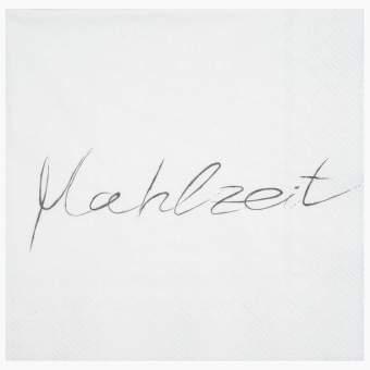 """Servietten """"Mahlzeit"""""""