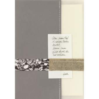 """Foto Zen Trauerkarte """"Was man tief in seinem Herzen..."""""""