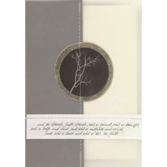 """Foto Zen Trauerkarte """"...und der Mensch heißt Mensch..."""""""