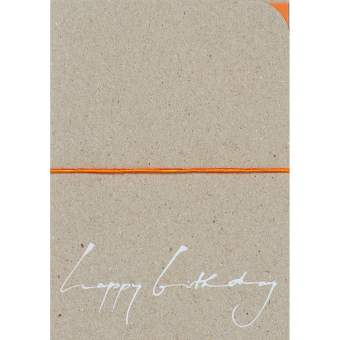 """Kalligrafie Karte """"Happy Birthday"""""""