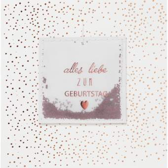 """Streugut Karte """"Alles Liebe"""""""