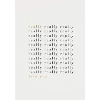 "Lieblingspostkarte ""I really really ..."""