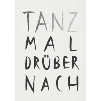 "Fanpostkarte ""Tanz mal drüber nach"""