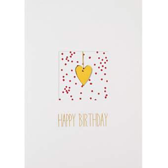 """Fensterkarte """"Happy Birthday"""""""