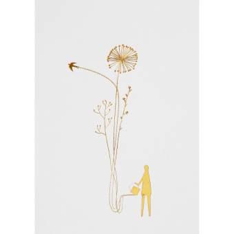"Wunderland Postkarte ""Blumen"""