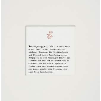 "Passepartout Karte ""Wonneproppen"""