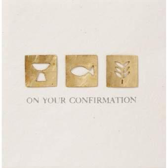 "Festtagskarte ""Confirmation"""