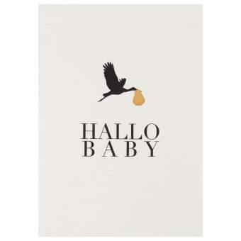 """Kleiner Gruß """"Hallo Baby"""""""