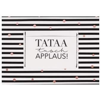 """Geschenkkarte """"Tataa Tusch Applaus"""""""