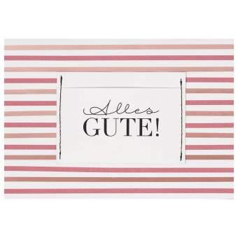 """Geschenkkarte """"Alles Gute"""""""