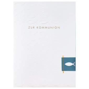 """Festtagsprägekarte """"Zur Kommunion"""""""