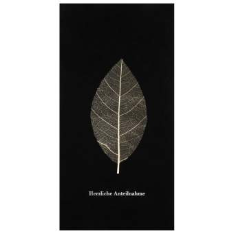 """Natur Trauerkarte """"Herzliche Anteilnahme"""""""