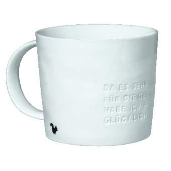"""Poesie et Table. Breakfast. Kaffeetasse """"Guten Morgen Sonnenschein"""""""