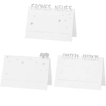 "Platzkarten. Set aus 6 ""Frohes Neues"""