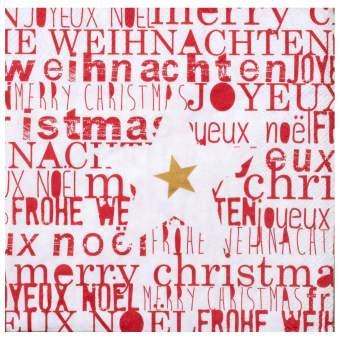 """Weihnachtsservietten """"Stern"""""""