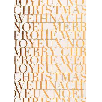 """Weihnachtspostkarte """"Frohe Weihnachten"""""""