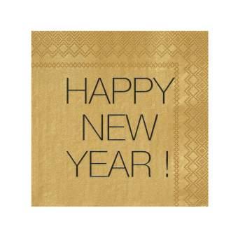 """Silvesterservietten """"Happy New Year"""""""