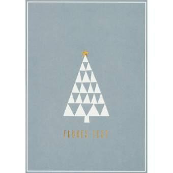 "Winter Postkarte ""Frohes Fest"""