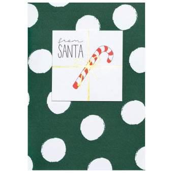 """Weihnachtsgruß """"From Santa"""""""