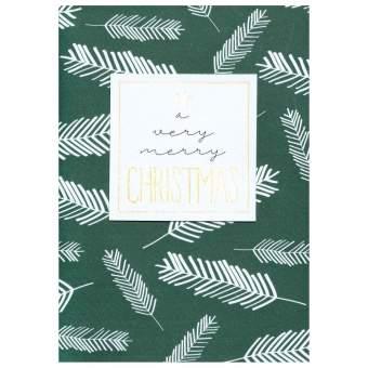 "Weihnachtsgruß ""A very merry Christmas"""