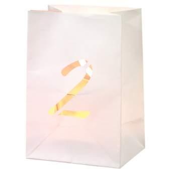 """Paper & Poetry. Zahlen Lichttüte """"2"""""""
