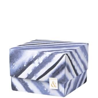 "Tintenblau. Origami Schachtel ""&"""