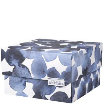 """Tintenblau. Origami Schachtel """"Zeichen & Wunder"""""""