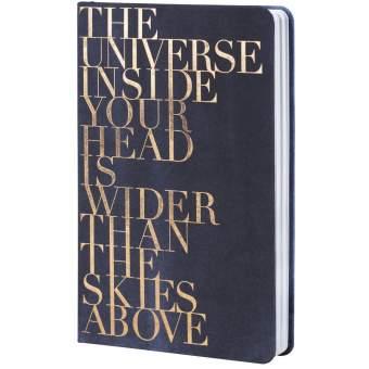 "Tintenblau. Notizbuch ""The universe..."""