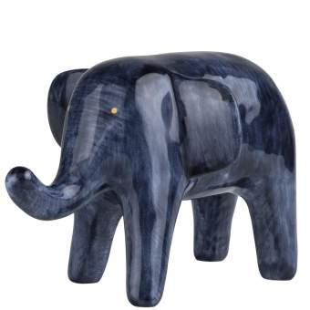 "Tintenblau. Arbeitstiere ""Elefant"""