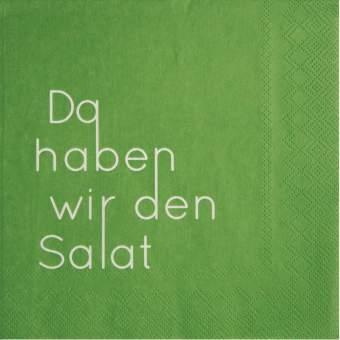 """Servietten """"Da haben wir den Salat"""""""