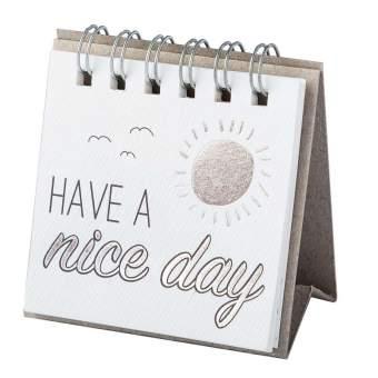 """Kleine Botschaft """"Have a nice day"""""""