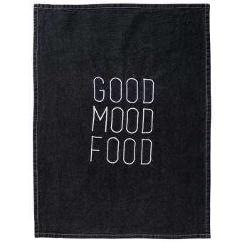 """Geschirrtuch """"Good Mood Food"""""""