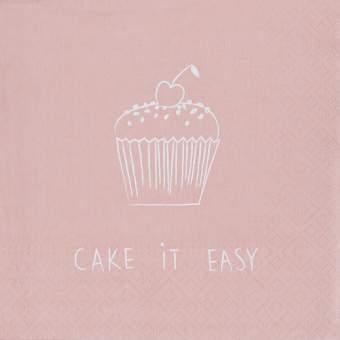 """Serviette """"Cake it easy"""""""