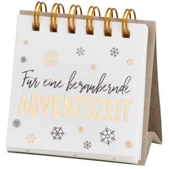 """Kleine Adventsbotschaft """"schaften 6,5x6,5cm"""""""