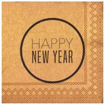 """Cocktailservietten """"Happy New Year"""""""