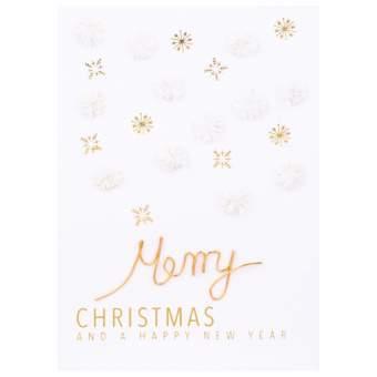 "Weihnachts Papierkunstkarte ""Merry Christmas"""