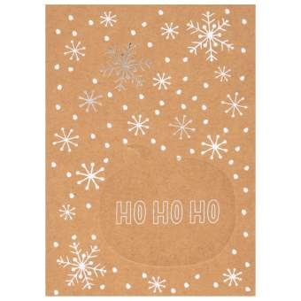 "Sprechblasenpostkarte ""Ho Ho Ho"""
