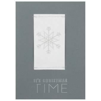 """Stickkarte """"Its Christmas time"""""""