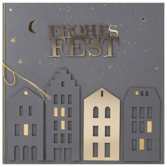 """Weihnachtsfestkarte """"Frohes Fest"""""""